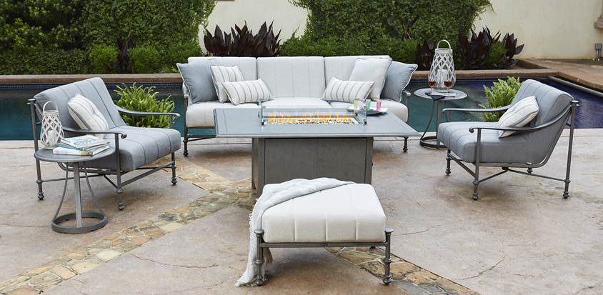 Nova A Signature Collection Woodard Furniture - Woodard aluminum patio furniture