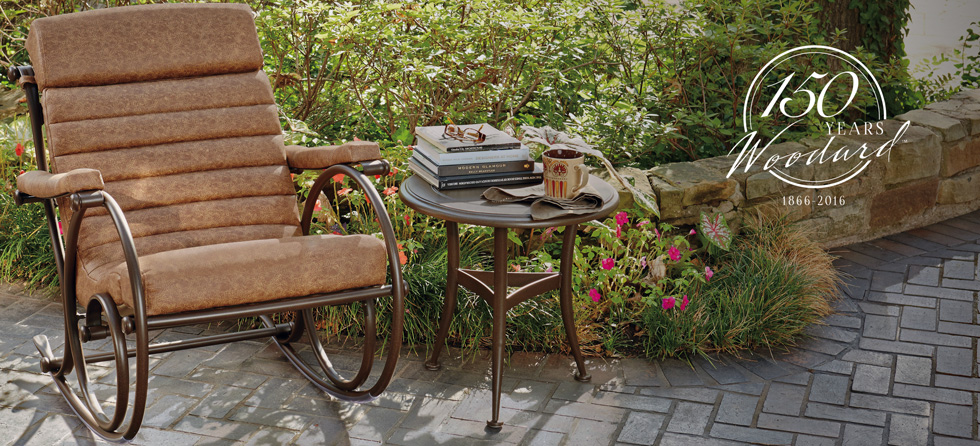 Woodard Wrought Iron Outdoor Furniture Part   37: Our History