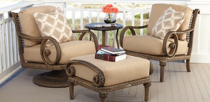 South Shore Woven Residential Woodard Furniture