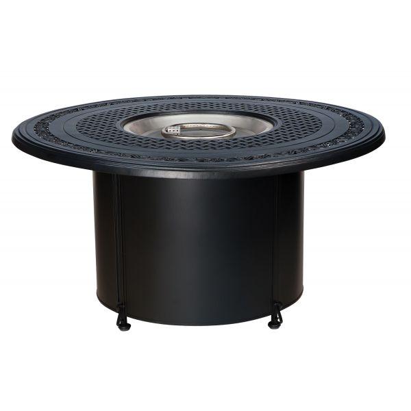 Universal Round Fire Pit with Round Burner