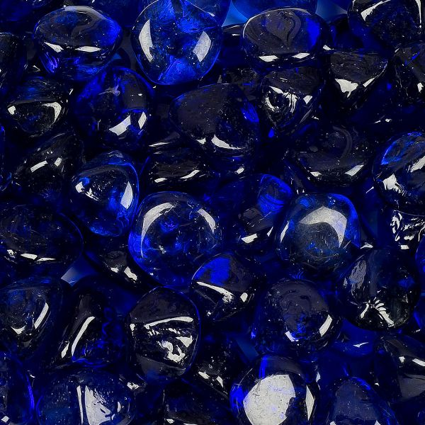 Cobalt Diamond Fire Table Beads