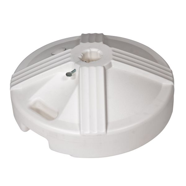 50 lb. Umbrella Base - White