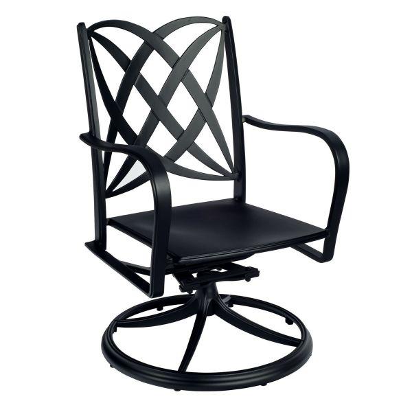 Apollo Swivel Rocker Dining Arm Chair