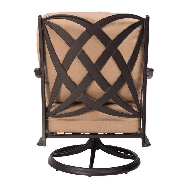 Apollo Swivel Rocker Lounge Chair - Back View