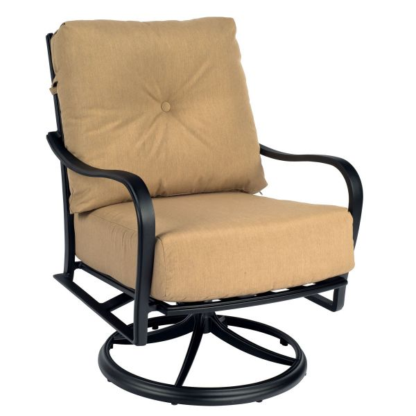 Apollo Swivel Rocker Lounge Chair with Cushions