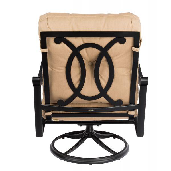 Belden Big Man's Swivel Lounge Chair Back