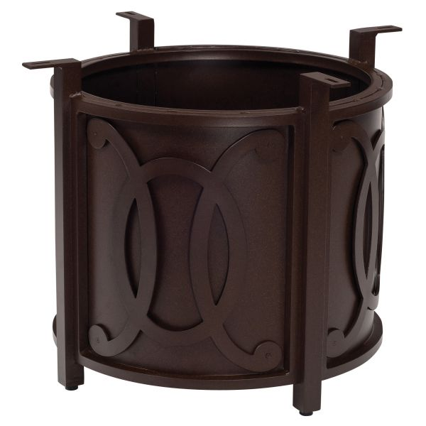 Belden Accented Universal Round Fire Pit Base with Round Burner