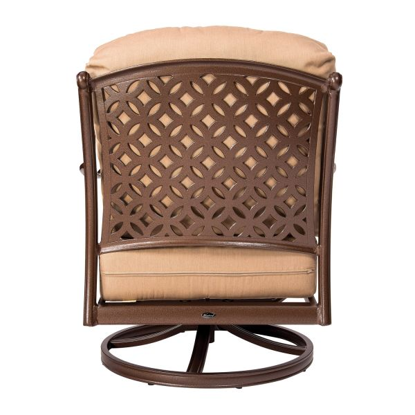 Casa Swivel Rocking Lounge Chair - Back View