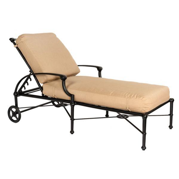 Delphi Adjustable Chaise Lounge 850470 by Woodard