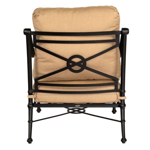 Delphi Lounge Chair by Woodard back detail