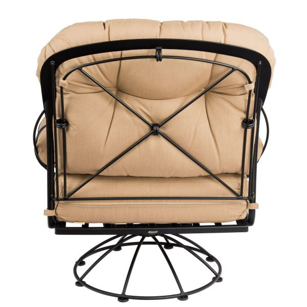 Derby Swivel Rocking Lounge Chair Back