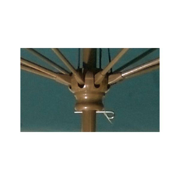 Fiberglass Market Umbrella Detail