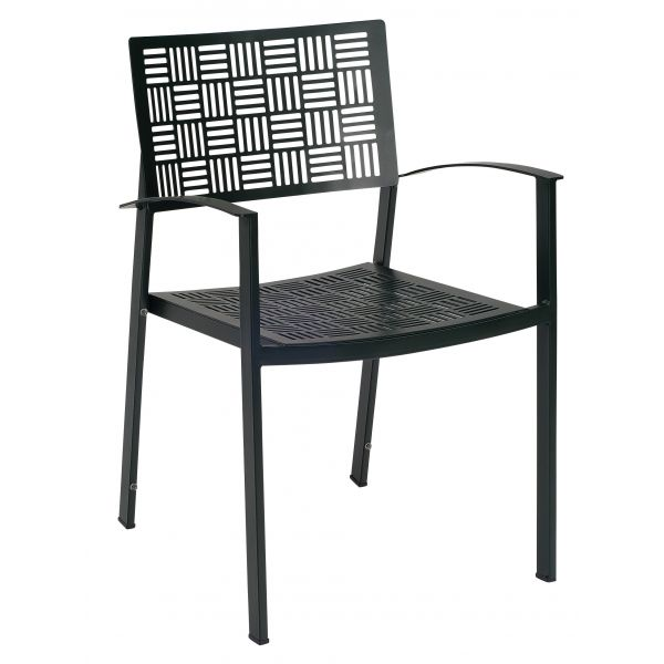 New Century Dining Arm Chair - Stacking