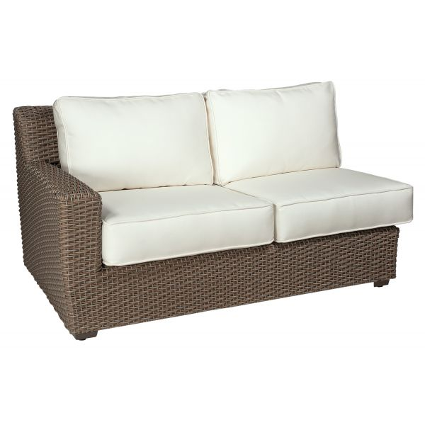 Augusta Left Arm Facing Loveseat Sectional