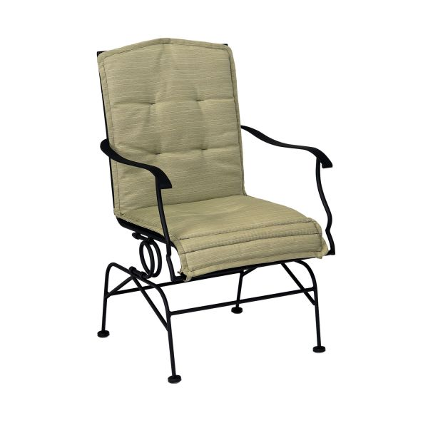Stanton Micro Mesh Coil Spring Dining Chair with cushion