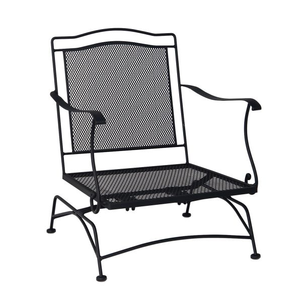 Woodard Direct Stanton Spring Club Chair without Cushion