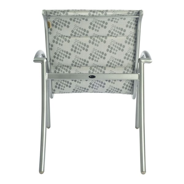 Tribeca Padded Dining Armchair - Stackable - Back