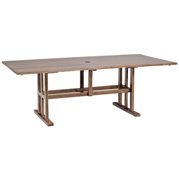 Woodland Rectangular Dining Table - Woodard Furniture