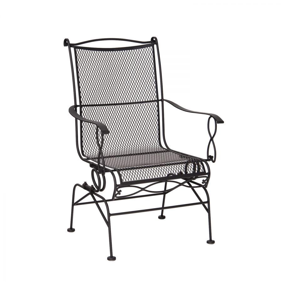 rialto coil spring rocker with cushion