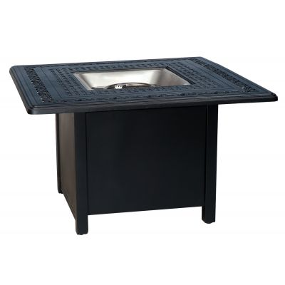 Universal Square Fire Table Base with Square Burner