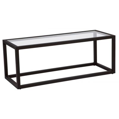Salona Coffee Table - Clear Glass