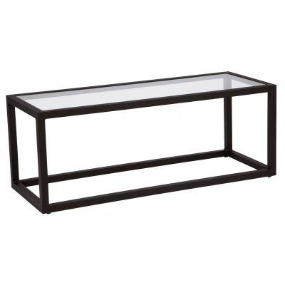 Salona Coffee Table - Clear Glass