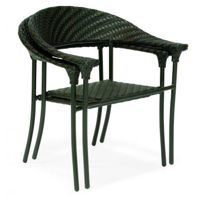 Barlow Dining Armchair - Stackable - Dark Roast