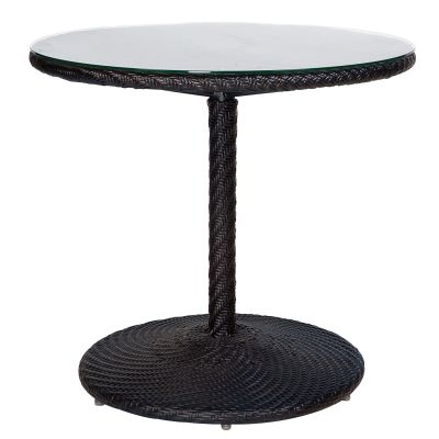 "Barlow 30"" Round Bistro Table - Dark Roast"