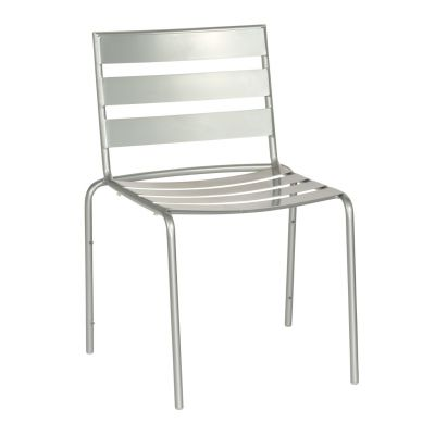 Café Series Metro Mercury Dining Side Chair - Stackable