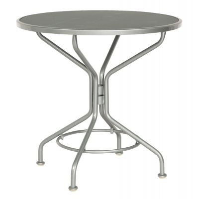 "Café Series Mercury Contract+ 30"" Round Mesh Top Bistro Table"