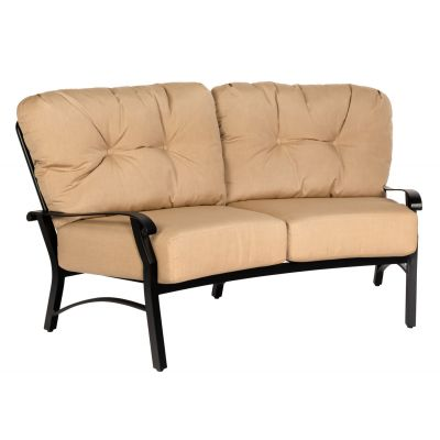 Cortland Cushion Crescent Love Seat