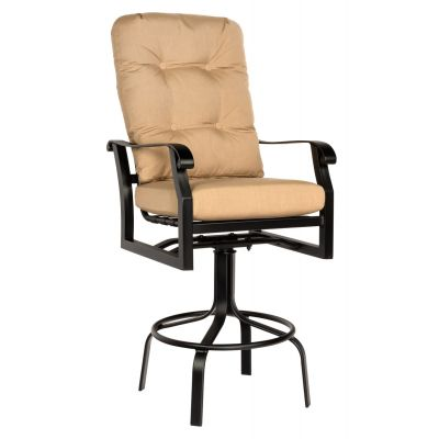 Cortland Cushion Swivel Bar Stool