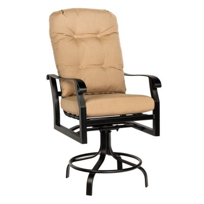 Cortland Cushion Swivel Counter Stool