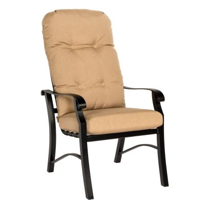Cortland Cushion High-Back Dining Armchair