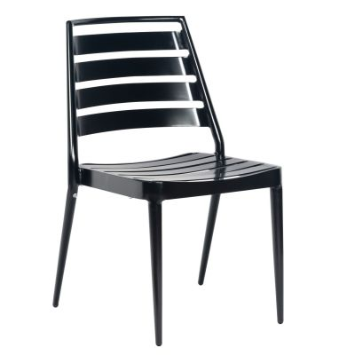 Daytona Slat Dining Chair - Stackable