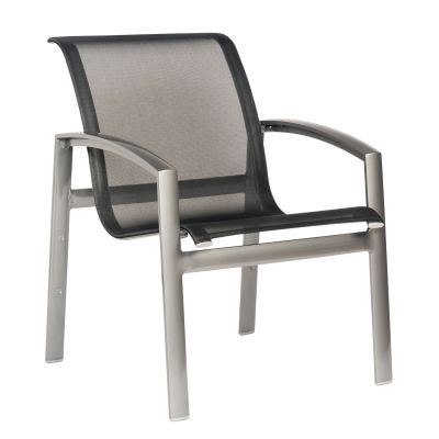 Metropolis Sling Stacking Dining Armchair