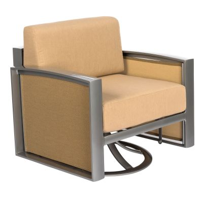 Metropolis Gliding Swivel Lounge Chair