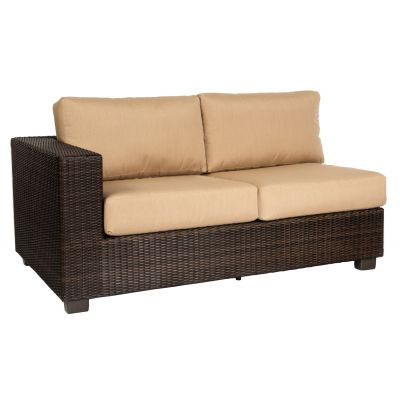 Montecito Left Arm Facing Love Seat Sectional