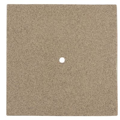 "Oatmeal 36"" Square Fiberglass Faux Granite Top"