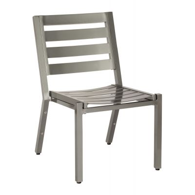 Palm Coast Slat Dining Side Chair - Stackable