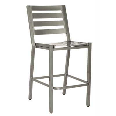 Palm Coast Slat Bar Stool