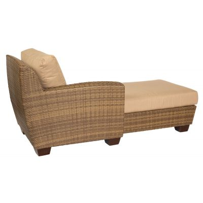 Saddleback Left Arm Facing Chaise Lounge Sectional