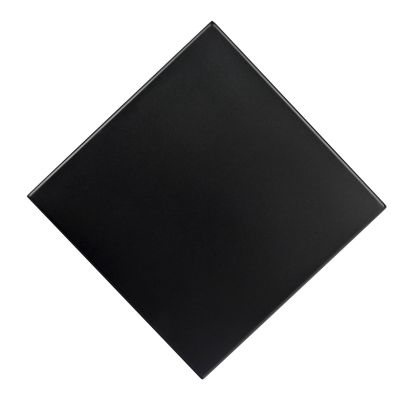 """Solid Iron Rolled Edge 24"""" Square Top"""