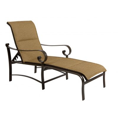 Belden Padded Sling Adjustable Chaise Lounge