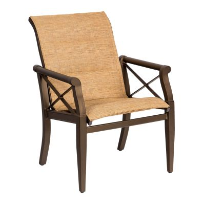 Andover Padded Sling Dining Armchair