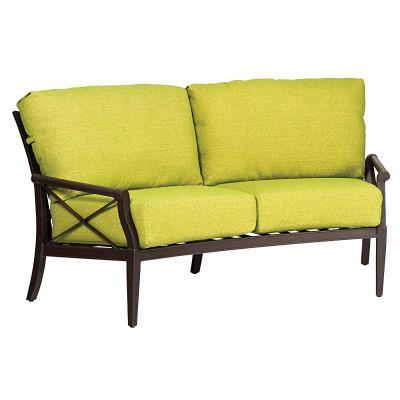 Andover Crescent Love Seat