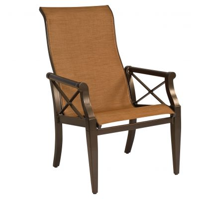 Andover Sling High-Back Dining Armchair