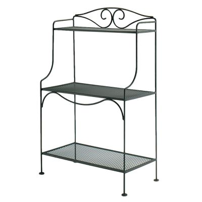 Rack Mesh Shelves Woodard Furniture, Outdoor Bakers Rack