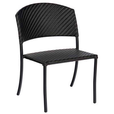 Barlow Side Chair - Stackable - Dark Roast