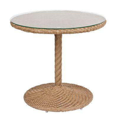 """Barlow 30"""" Round Bistro Table - Bronzed Teak"""